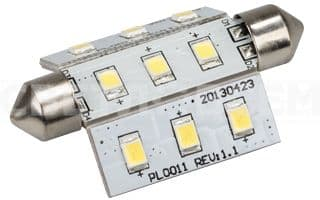 Автолампа ARL-F42-9E White (10-30V, 9 LED 2835). Пакет 1шт